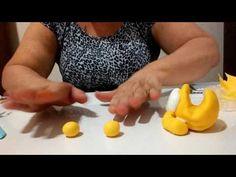 Como fazer um porta celular do Garfield de Biscuit - YouTube