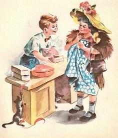 https://flic.kr/p/5i8ZoZ   Image from Vintage Storybook called Someday. 1947