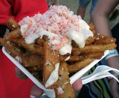 Beer-Battered Garlic Crab Fries