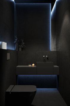 Bathroom Design Luxury, Modern Bathroom Design, Modern House Design, Modern Bedroom, Dream House Interior, Luxury Homes Dream Houses, Home Room Design, Dream Home Design, Black Interior Design