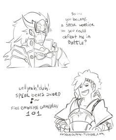Fire Emblem Fates- Shiro and Ryoma