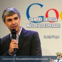Larry Page #motivación #tecnología