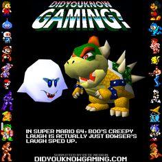 Super Mario 64.    Audio proof:http://bit.ly/96nPs