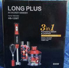 Jenny´s Testerei: 3 in 1 Stabmixer / Blender - Long Plus