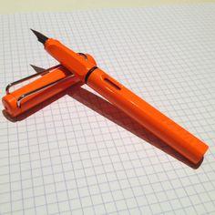 Lamy Safari Orange Limited Edition Fountain Pen