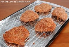 Baked Chicken Thighs with Panko-Paprika Crust Oven Fried Chicken Thighs, Panko Breaded Chicken, Crusted Chicken, Yummy Chicken Recipes, Yummy Food, Fun Food, Homemade Coleslaw, Fries In The Oven, Cooking Recipes