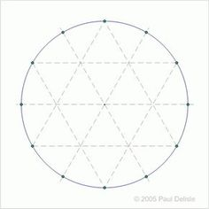 drawing the Sri Yantra by Michael Pudney