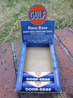Vintage Gulf Door Ease Lubricant Sticks w/ Display & NOS Vintage Pathfinder Beehive Identification Light Red Clearance ... Pezcame.Com
