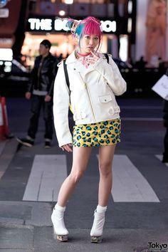 Japanese fashion, Harajuku style, Tokyo street snaps.The official Tumblr of TokyoFashion.com.