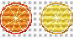 Copyright Amanda Gregory 2015 Chart for your own personal use and not to be produ... Sheep Cross Stitch, Cross Stitch Fruit, Cross Stitch Letters, Cross Stitch Bookmarks, Cross Stitch Flowers, Modern Cross Stitch, Cross Stitch Charts, Cross Stitch Designs, Stitch Patterns