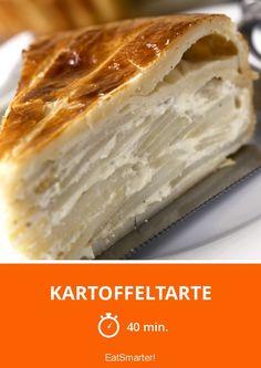 Kartoffeltarte - smarter - Zeit: 40 Min.   eatsmarter.de