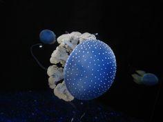 Doesn't it look like a little blue mushroom?