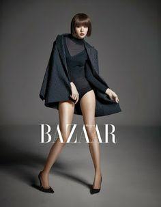 Jo Yoon Hee - Harper's Bazaar Magazine December Issue 2013