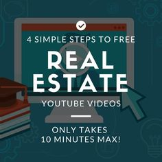 Do you struggle to find the time and money to create real estate youtube videos? This quick tutorial will make you a lead master on the biggest video site.
