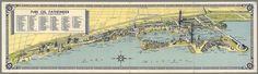 Century of Progress Exposition map