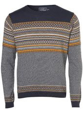 For mens fashion check out the latest ranges at Topman online and buy today. Topman - The only destination for the best in mens fashion New Frock, Urban Fashion, Mens Fashion, Dapper Gentleman, Cardigan Outfits, Mens Jumpers, Geometric Patterns, Men Sweater, Grandpa Sweater