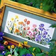 Spring Floral Cross-stitch  - Better Homes and Gardens