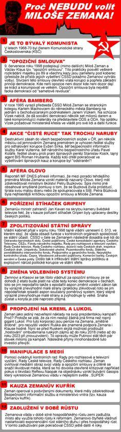 Proč nebudu volit Miloše Zemana