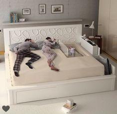 Pin by maria Vázquez on Dormitorio deco in 2019 Baby Bedroom, Bedroom Sets, Home Bedroom, Modern Bedroom, Bedroom Decor, Master Bedroom, Bedrooms, Dream Rooms, Bed Design