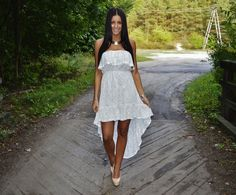 Vejra blogspot White lace dress