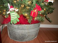 rustic wash basin tree stand (for a rustic winter porch)