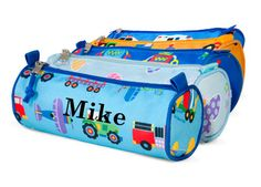 Pencil cases that can be embroidered for that personal touch!