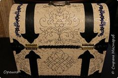 Antique Chest, Trunks And Chests, Silver Filigree, Jute, Beads, Antiques, How To Make, Accessories, Journals