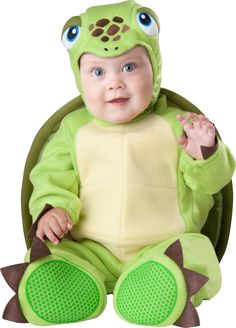 tiny turtle costume baby turtle costumes for halloween - Monsters Inc Baby Halloween Costumes