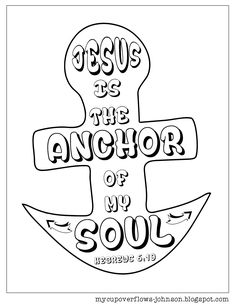 free inspirational Bible verse coloring pages Hebrews Preschool Bible Lessons, Bible School Crafts, Bible Crafts For Kids, Bible Lessons For Kids, Bible Activities, Vbs Crafts, Church Crafts, Scripture Crafts, Kids Bible