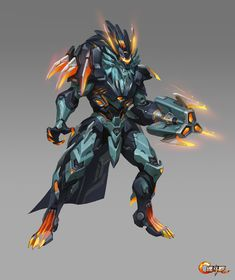 ArtStation - Concept for 魂斗罗归来, xu wang Futuristic Armour, Dark Matter, Weapons, Sci Fi, Concept, Artwork, Games, Design, Gaming