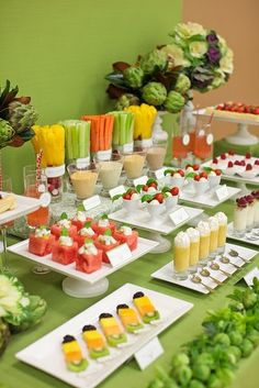 Gorgeous display of beautiful food!