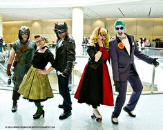 Rockabilly Batman Group Cosplay