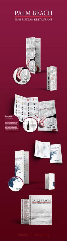 Muhammet Yılmaz on Behance #design #logo #menu #restaurant #bar #fish #steak #raki #behance