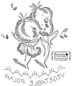 Veggies... dancing!   by floresita's transfers