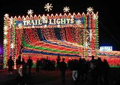 Can't wait to go back to the Trail of Lights this December!