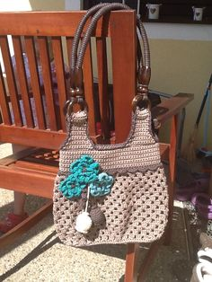 Crochet bag for me :) pattern from vendula Maderska :)