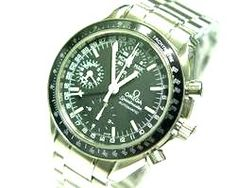 "Original 1968 OMEGA SPEEDMASTER BLACK AUTOMATIC CHRONOGRAPH WATCH ""The Moon Watch""   Legacy of my late Father   $1600 US"