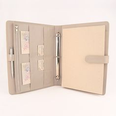 A4 Original Leather Ring Binder Planner / Organizer by CocoaPaper