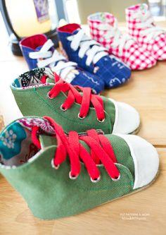 706 Aidan Baby Sneakers PDF Pattern