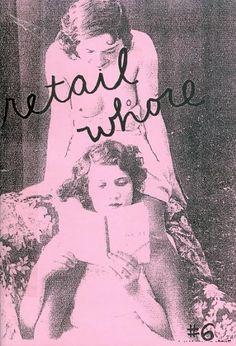 Retail Whore (feminist zine)