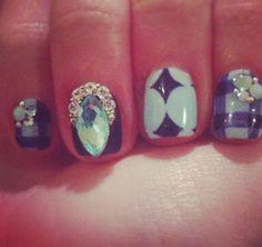 Jenna marbles nails <3