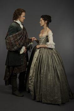 The Wedding of Claire Elizabeth Beauchamp to James Alexander Malcolm MacKenzie Fraser. Season 1 Episode 7, The Wedding.