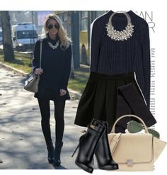 """On the corner"" by monmondefou on Polyvore"