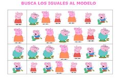 EL BLOG DE L@S MAESTR@S DE AUDICION Y LENGUAJE: COLECCIÓN FICHAS: PEPA PIG