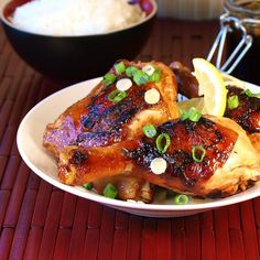 GuamanianChicken ~ One of my family's all time favorites! My son was born in Guam and this was a regular at ANY and ALL cookouts or gatherings!!!