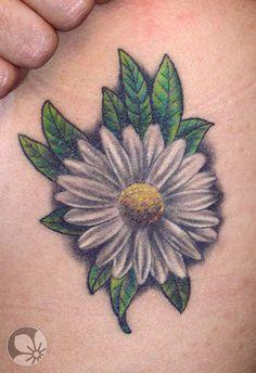 Sorce: http://springtattoo.com ------ daisy tattoo #tattoos #daisy #flower