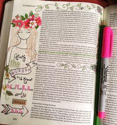 Bible journaling, Esther 4:14 Favorite Bible Verses, Bible Verses Quotes, Bible Scriptures, Queen Esther Bible, Esther In The Bible, Scripture Art, Bible Art, Bible Study Journal, Journal Art