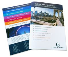 Global Tax Network Folder and inserts