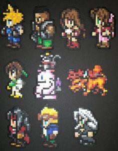 final fantasy 7 pixel art