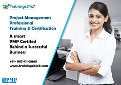 Trainings24x7 provide PMP Certification Training Available: 4 days training divided into two weekends 35 Contact hours / pdu certificate Mobile apps Study material Formula book 4 full length simulation test (4 Hours, 200 Questions per simulated test) Quality training by the pmp® certified and industry experts 100% passing guarantee (Read T&C)